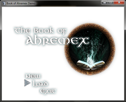 Book of Ahremex Title by kalez