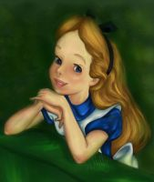 Disney Coloring Book - Alice by meMilly