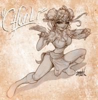 CHUN LI SKETCH by BROWN73