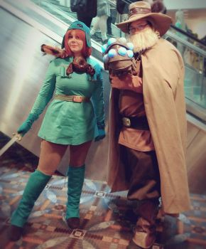 Nausicaa cosplay Lord Yupa Cosplay  by LMarieCosplay