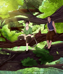 Lounging About In the Trees by Lozey