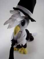 Jackle the Griffon Plushie by Brainbread