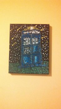Watching the Meteor Shower with the Tardis by flamegirl88
