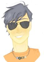 Percy...in sunglasses by JaydeeMe