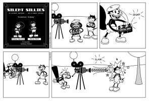 Silent Sillies 037 - Director Sidney by JK-Antwon