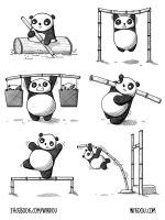 PANDALYMPICS by WirdouDesigns