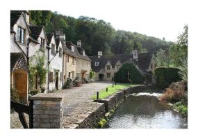 Castle Combe Villiage by JRose-Photography