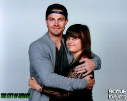 Meeting Stephen Amell by punkette180