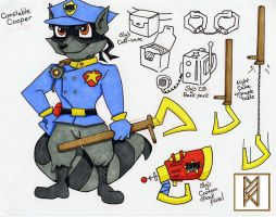 Constable Cooper Concept by Big-Bad-Buddy-Wolf