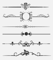 Calligraphic dividers by andra04
