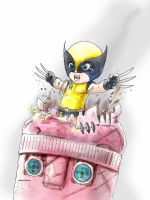 little wolvie by bua