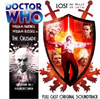 Doctor Who Big Finish Custom Cover The Crusade by spanishyoda