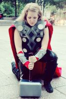 The Lady Thor by sistersmischief