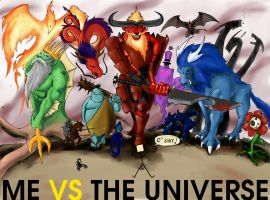 me vs the universe by ketsueki-karasu
