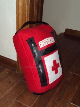 Mini First Aid Kit by Tribal-Ink