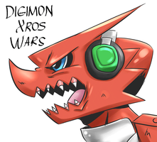 Digimon Xros Wars by DAgilityRei