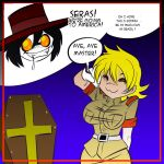 Hellsing kills Trump Panel 3 by Rouge-Fox