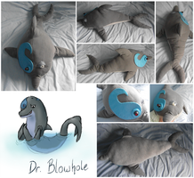 Dr 'Flippy' Blowhole Plush by FelineMyth