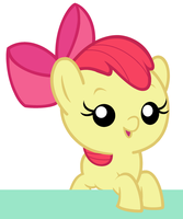 Bath Time, Applebloom! by Beavernator