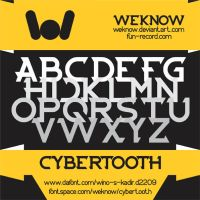 cybertooth font by weknow by weknow