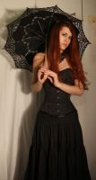 Black Corset Stock 02 by GillianStock