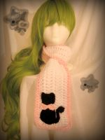 FOR SALE kawaii cat scarf by Ringo-Chu