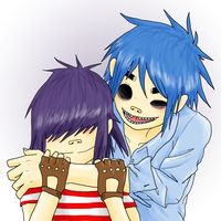 2D and Noodle by AniiTaRuiz