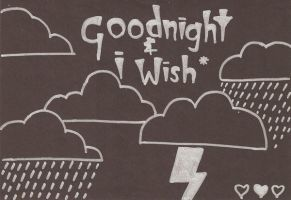 Goodnight And I Wish by deehumidifier