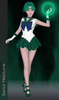 SailorXv3.06.05 - Sailor Neptune by SailorXv3