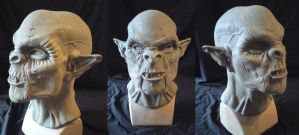 Orc sculpt 1 by WulWhite