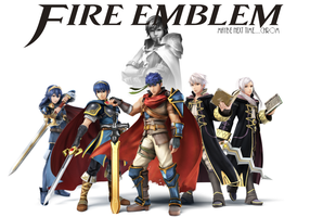 Super Smash Bros. Wii u/3DS : Fire emblem by Kyon000