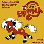 Sakura-Con 2013 Custom Staff Badge Image by Duches77