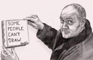 Dara O Briain Some People Can't Draw by RioghnachsReign