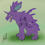Nidorino (flat Color) by Haruki-chan2
