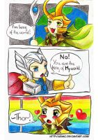 Loki: Im king by Urani