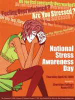 Stress Awareness poster by GenevieveGT