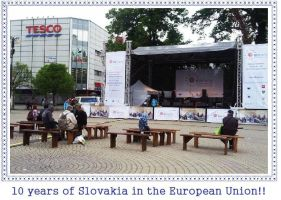 10 years of Slovakia in the European Union!! by Rodegas