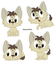 Cute Hyena by Daieny