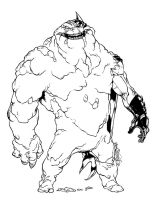 Clayface by BenSteamroller