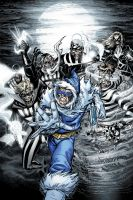 Blackest Night Flash 2 Cover by M-Atiyeh