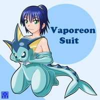 Vaporeon Suit by sinrin8210