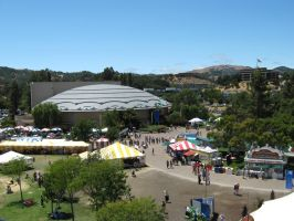 Overview of Marin County Fair by Wistfulwish