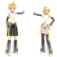 DT Append Kagamine DL (Reopend) by KagamineLover02