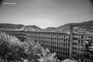 Big Blocks and Hills by Aneede
