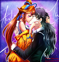 (COLLAB with sakudrew) Passion by zelka94