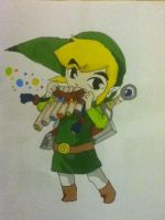 Toon link by Averageon