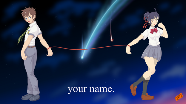 YOUR NAME by OSuKaRuArT