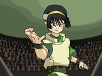 Toph - The Blind Bandid by faithless12