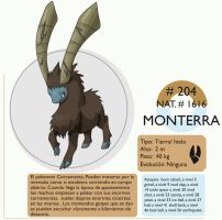 Pokemon Oryu 204 Monterra by shinyscyther