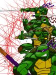 Pencil Power Turtles Colored by FoxKid1302